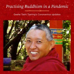 Practising Buddhism in a Pandemic – Geshe Tashi Tsering's Coronavirus Update 2nd September